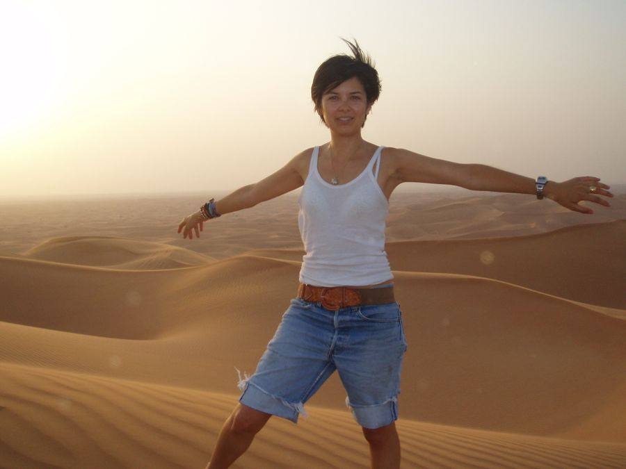 UAE, Dubai, Dune bashing and desert safari with Hormuz Tours