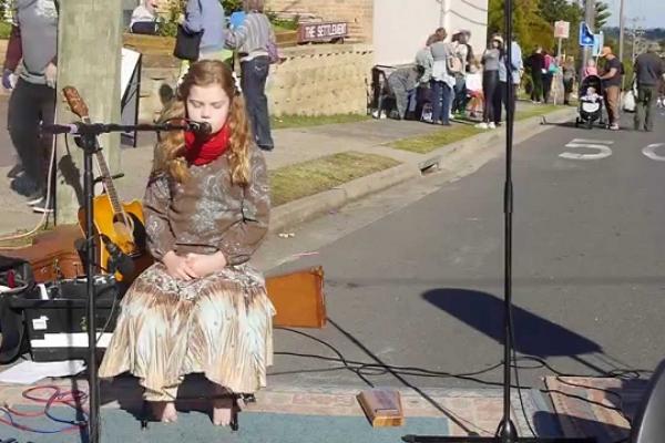 Milton's scarecrow festival