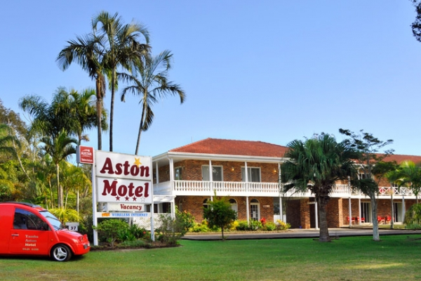 Aston Motel in Yamba, NSW, Australia