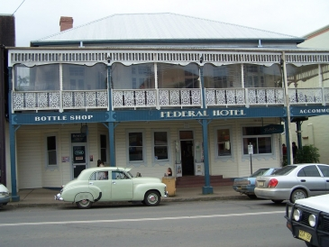 Australia, Federal Hotel Bellingen - Old Worlde Australiana Pub brought up to date