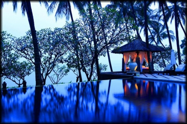 Indonesia, Bali, Tembok, Indulgence of the senses at Spa Village Resort Tembok