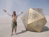 USA, Nevada, Black Rock Desert, What is Burning Man Festival really like?