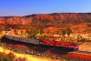 Australia, Alice Springs, Rail tour of the outback on the historic Ghan